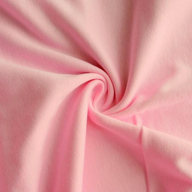 Hình ảnh thật về đặc điểm vải thun mịn hay còn gọi là vải thun sợi bông.