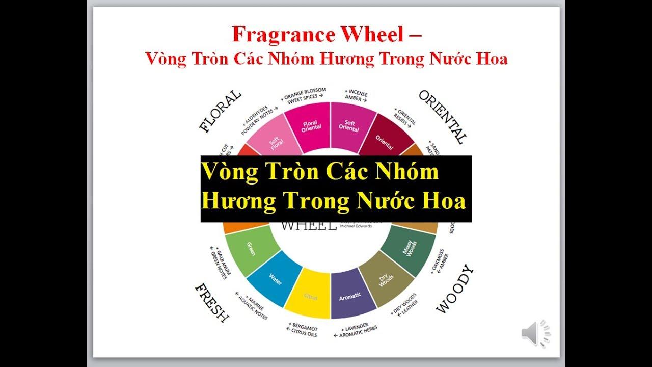 Bảng tuần hoàn 7 họ hương nước hoa