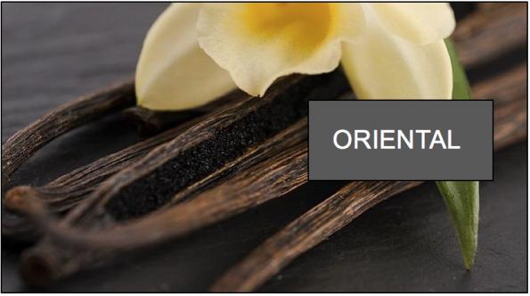 Mùi hương mang sắc thái phương Đông